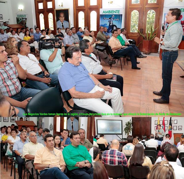 En Cúcuta, funcionarios municipales, líderes y empresarios reciben capacitación sobre Negocios Verdes e Inclusivos