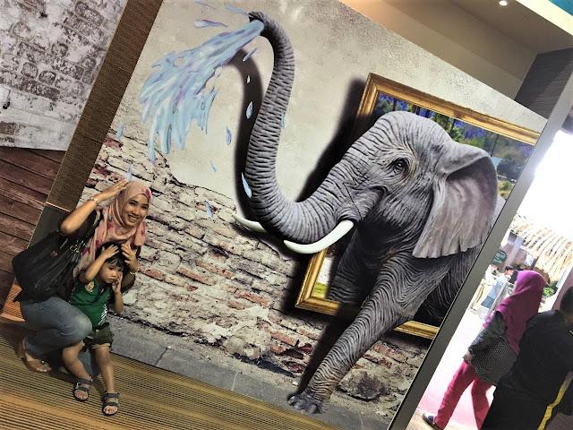 Pameran 3D Art Di Muzium Perak