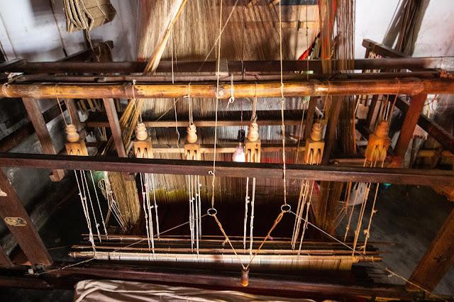 silk loom in Murshidabad