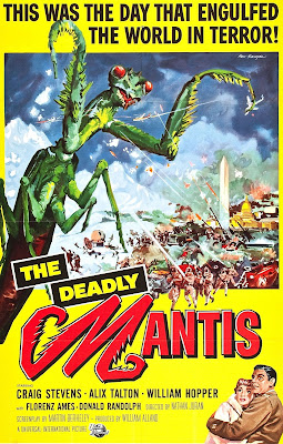 Movie poster - The Deadly Mantis (1957)