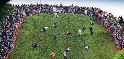 Cheese Rolling Cooper's Hill - Inggris