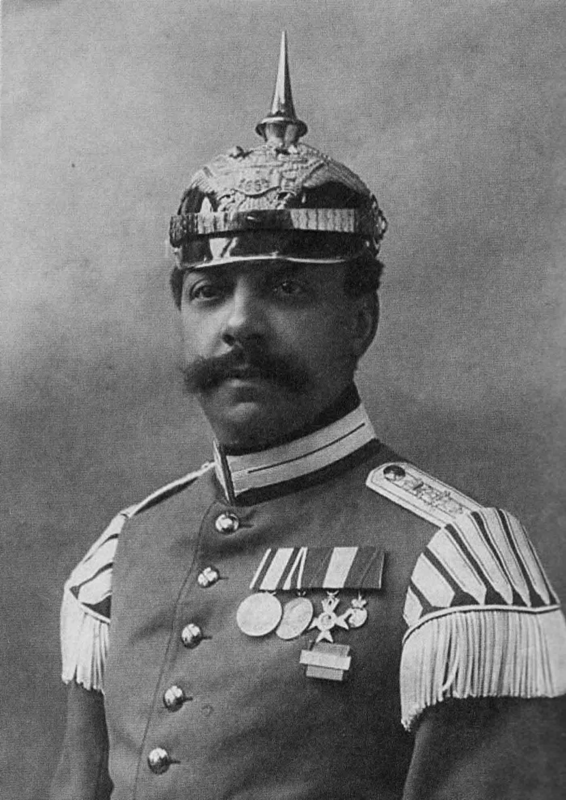 Music Master Gustav Sabac el Cher, 1st Prussian Grenadiers. 1908.