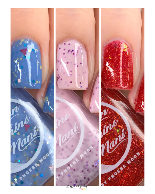 Moon Shine Mani Daddy Daughter Trio