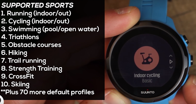 Suunto Spartan Sport Wrist Hr Features review