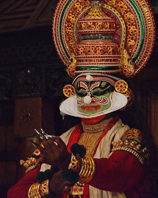 Imagen de Actor de Kathakali