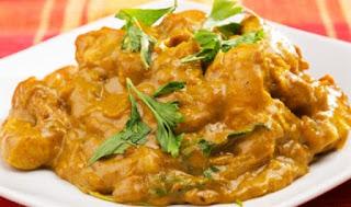 طريقة عمل دجاج هندي بحليب جوز الهند