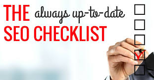 The Complete SEO Checklist