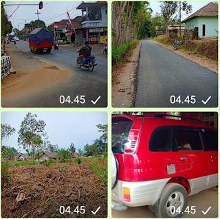 lahan + rumah di Malang