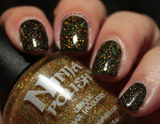 Ninja Polish Infinity Gems Infinity Gauntlet Swatches Review