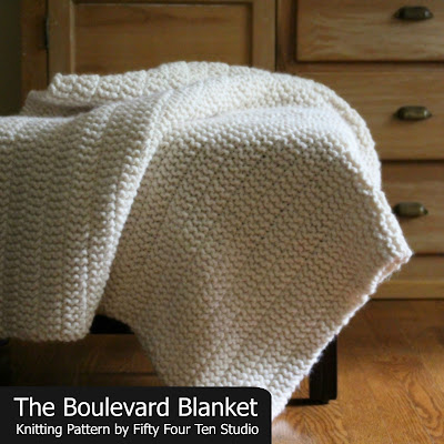 Fifty Four Ten Studio The Boulevard Blanket Free Chunky Knitting Awesome Knitting Patterns For Blankets And Throws Free