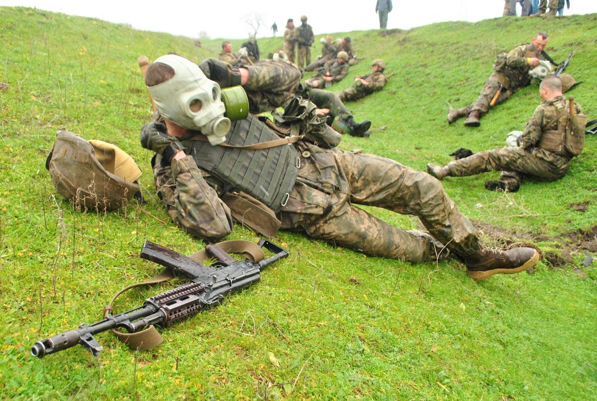 Ukrainian marines