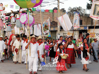 Convite Patronal 2016 En San Antonio De La Cal Oaxaca