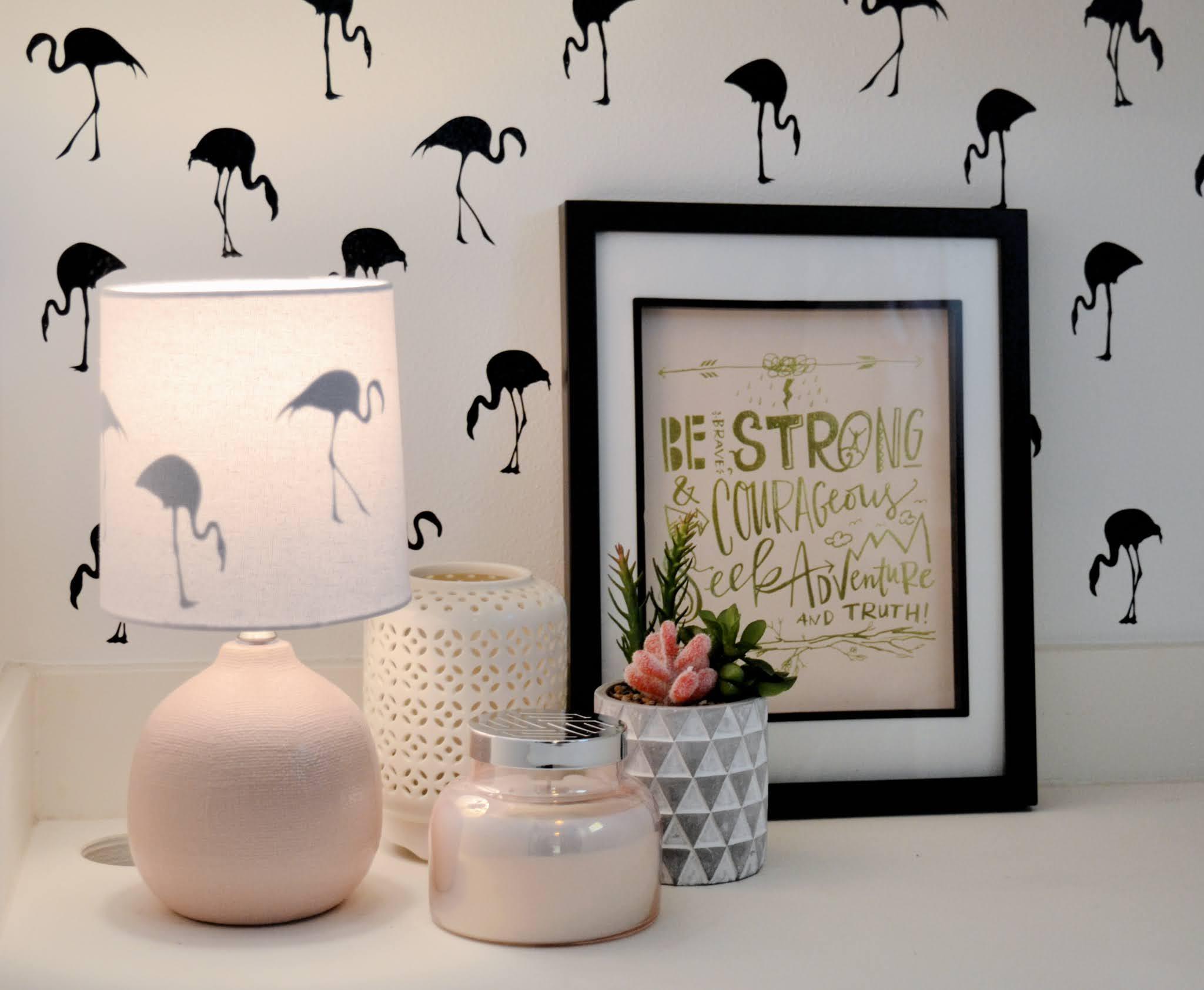 removable wallpaper using Cricut Joy