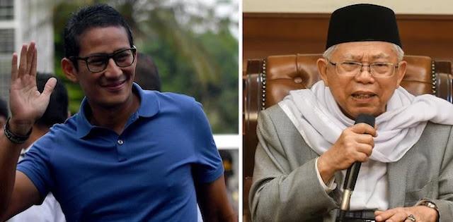 Membandingkan Sandi Effect VS Maruf Amin Effect
