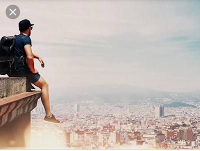 Tips Memotret Diri Sendiri Bagi Kalian Yang Solo Travelling!