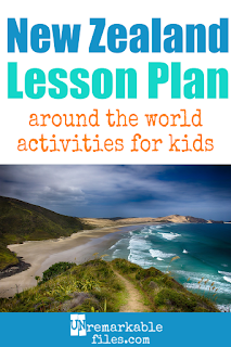 Putting together the perfect New Zealand lesson plan for your students? Are you doing an around-the-world unit in your K-12 social studies classroom? Try these free and fun New Zealand activities, crafts, books, and free printables for teachers and educators! #newzealand #kiwi #maori #lessonplan