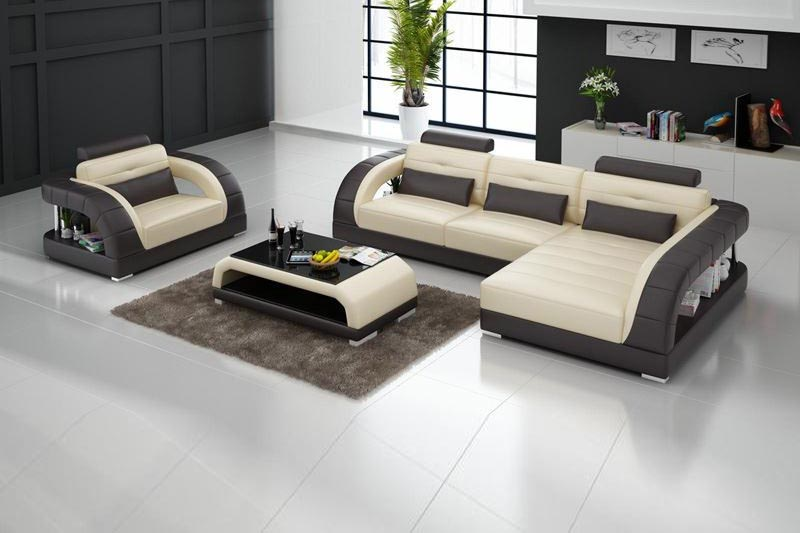 40 modern sofa set designs for living room interiors 2018 for Sofa set designs for hall