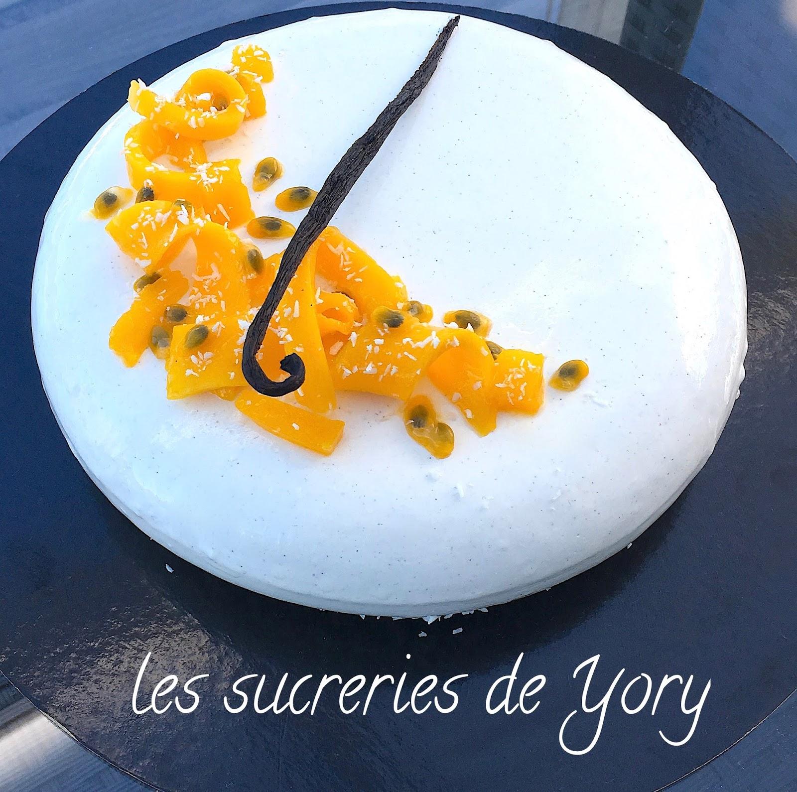 Les sucreries de yory entremet vanille exotique for Miroir de sucre