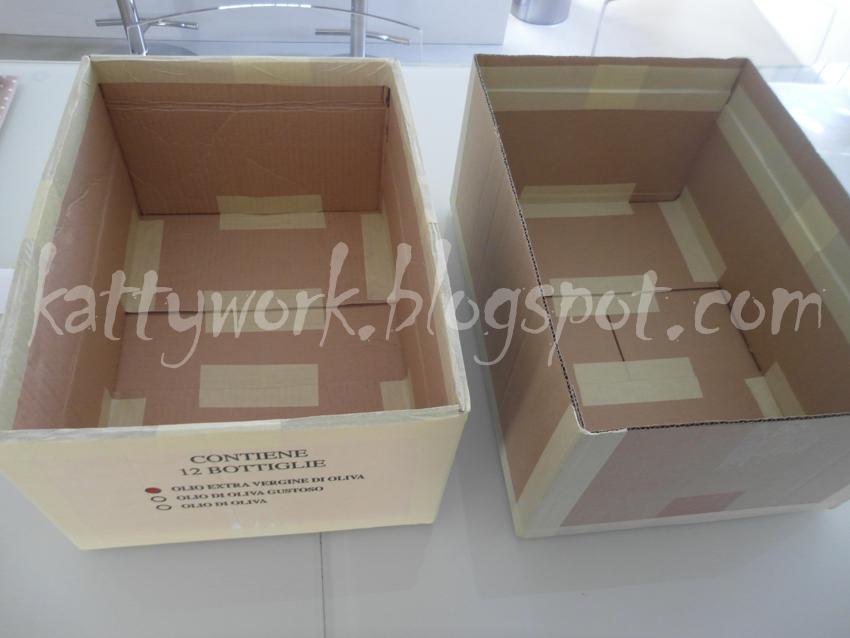 Popolare Work in progress : Makeover .3: scatole di cartone  IG03