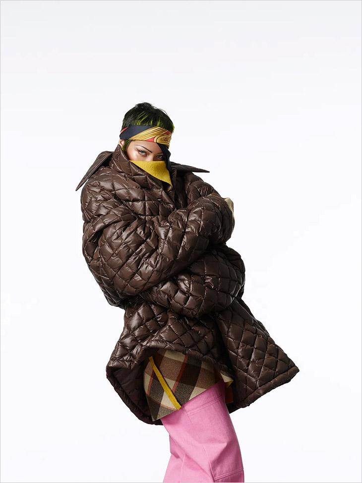 Rihanna shot & styled by Rihanna for Vogue Italia.