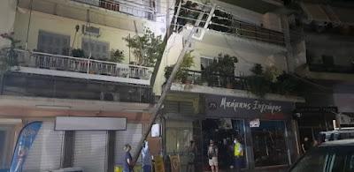 Αυτοκίνητο έπεσε σε κολόνα της ΔΕΗ- Χωρίς ρεύμα μέρος της οδού Αθηνών
