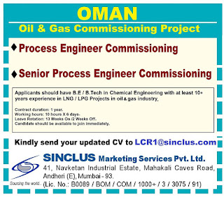 Oil & Gas Commissioning Project