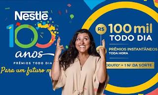 Promoção Nestlé 100 anos