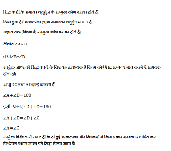 Analytic method in mathematics