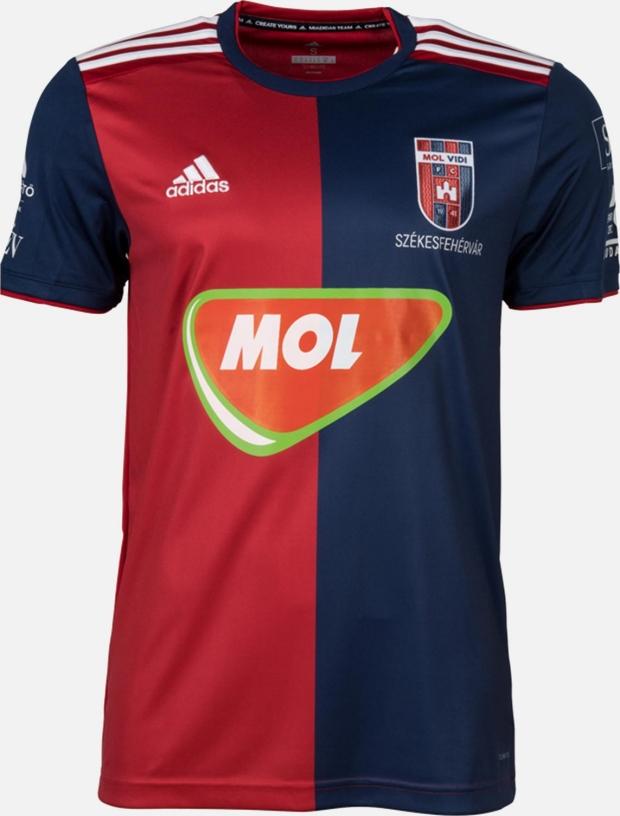 Adidas apresenta novas camisas do MOL Vidi. A Adidas divulgou os novos  uniformes ... e07ddf4da7784