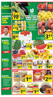 Food Basics Weekly Flyer August 17 – 23, 2017