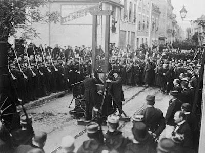 Guillotine execution