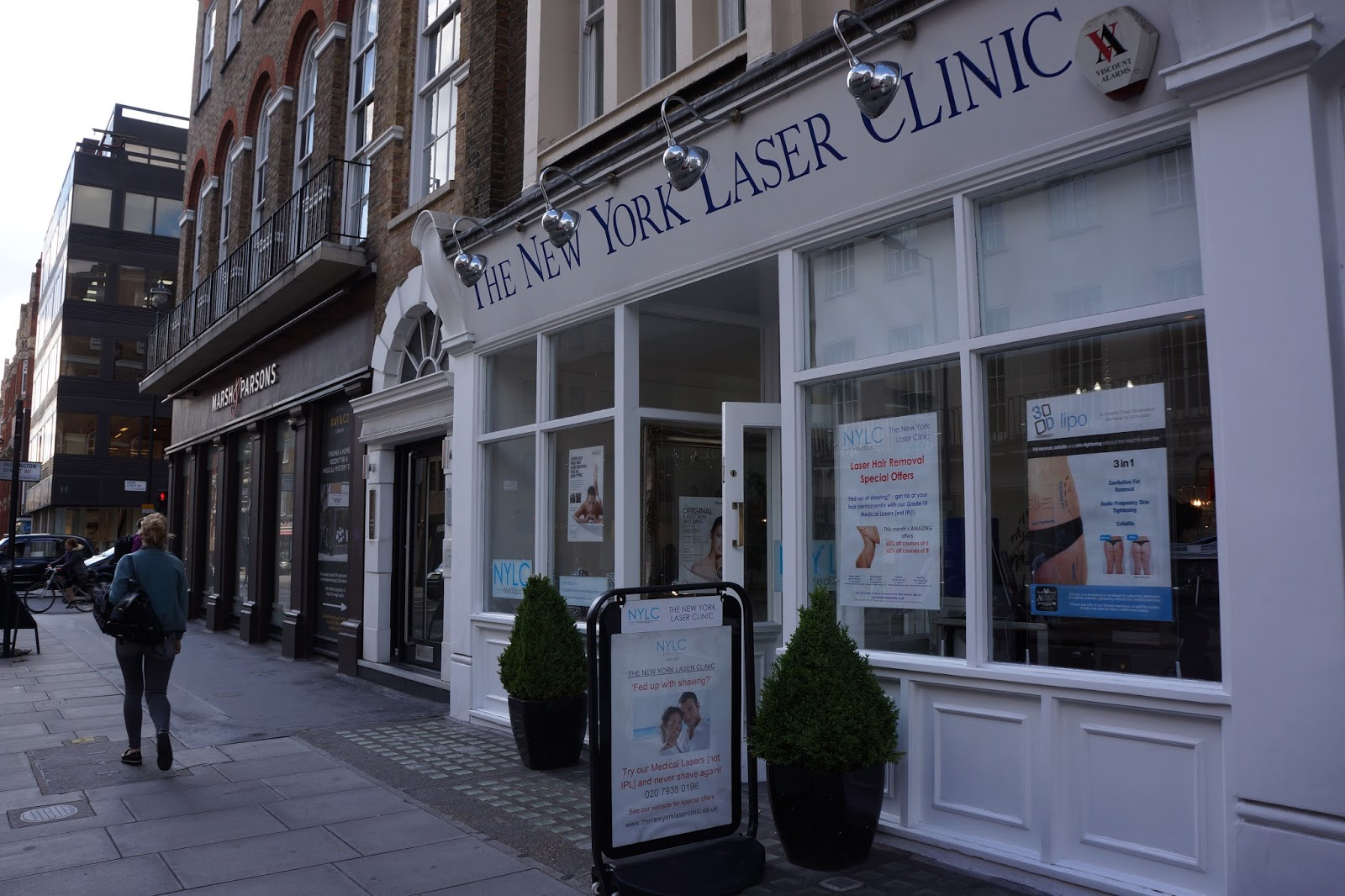 new york laser clinic baker street