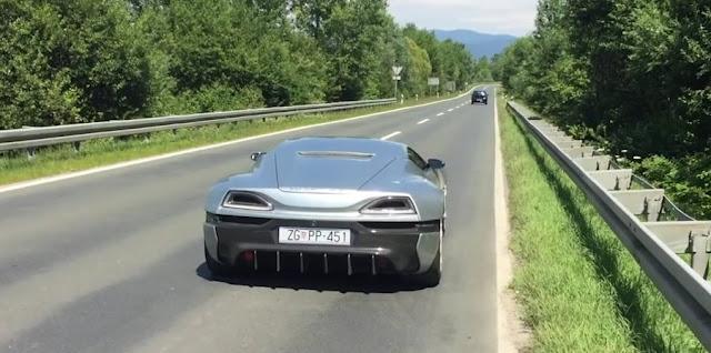 【動画】2.6秒で0-100km/hまで加速すると車内からはこんな感じに見える!