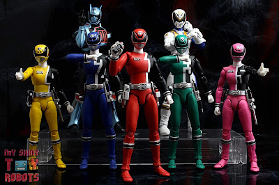 Power Rangers Lightning Collection SPD Omega Ranger & Uniforce Cycle 54