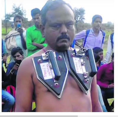 Meet The Man Whose Body Attracts All Irons Due To Huge Magnetism In His Body