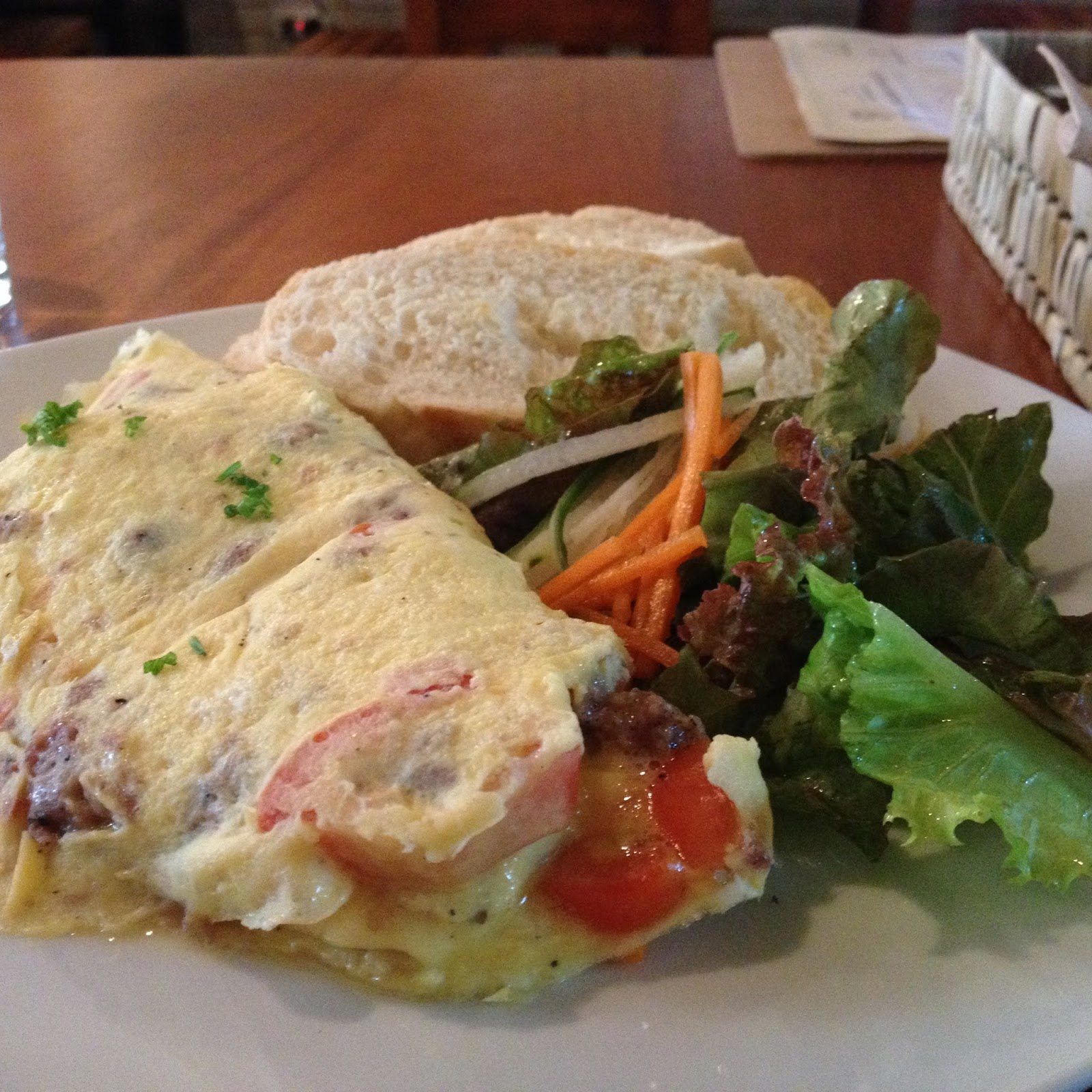 Cebu Omelette at Yolk Coffee and Breakfast