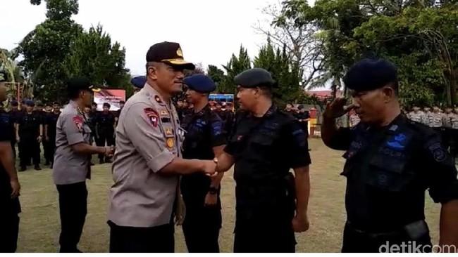 Polda Sumbar Kirim 250 Personel Brimob ke Papua