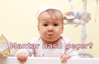 bebek pişik mantarı nasıl geçer