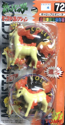 Ponyta Pokemon figure Tomy Monster Collection series