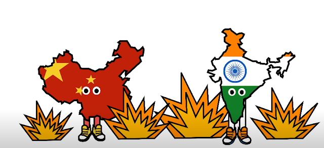 This is how a full fledged war between India and China will look like