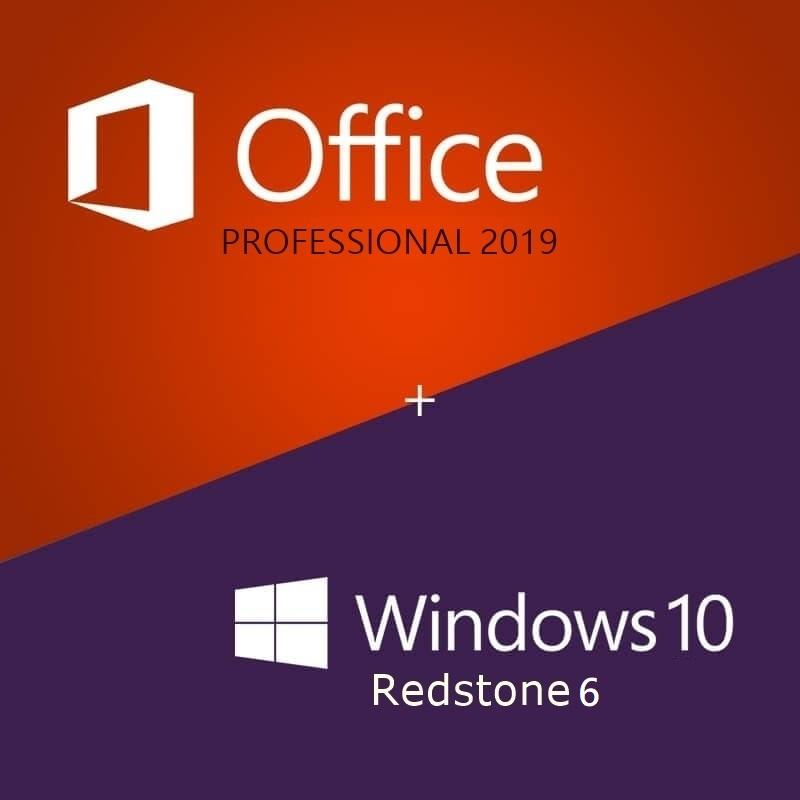 Windows 10 Rs6 1903 18362 175 AIO x64 & Office 2019 Pro Plus