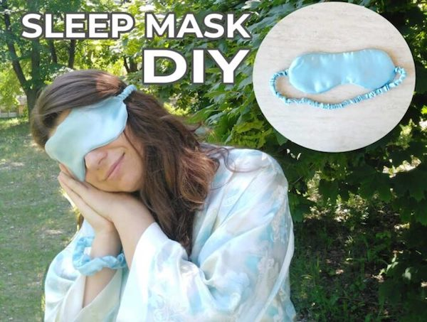 DIY Satin Sleep Mask Tutorial