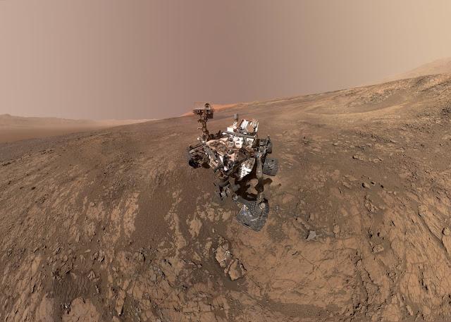 Tem Na Web - Curiosity faz descoberta inesperada no Monte Sharp, em Marte