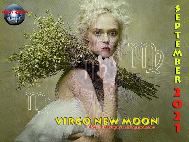 Virgo new moon | new moon september 2021 | trăng non tháng 9