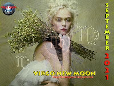 Virgo New Moon September 2021   Trăng Non Tháng 9 tại Xử Nữ