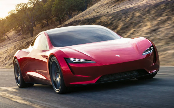 Novo Tesla Roadster pode vir com capacidade de flutuar no ar