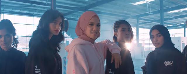 Video Muzik Lagu Terbaru Nabila Razali, Vroom Vroom