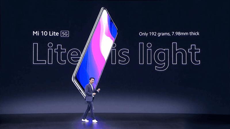 Surprise! Xiaomi announces Mi 10 Lite 5G!