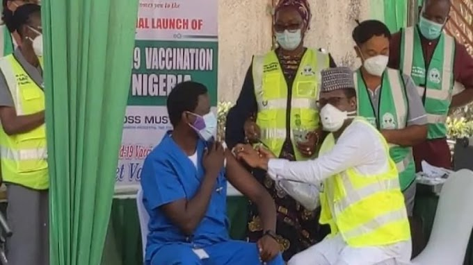 Dr Ngong becomes first Nigerian to receive COVID-19 vaccine, shares experience
