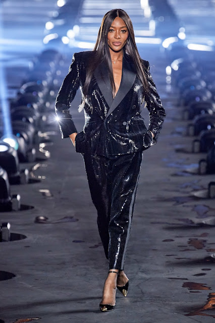 Saint Laurent runway fashion SS20 trends be fashion blogger Kelly Fountain
